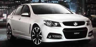 Late Model Holden SSV