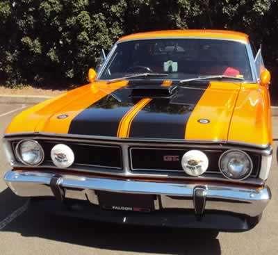 muscle car Falcon GT