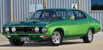 GT Ford Muscle Car Restoration