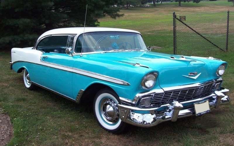Classic 1956-Chevrolet-Bel-Air